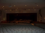 The auditorium. The new one will have a balcony but will be smaller.