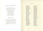 Commencement Program - Last Pages - Courtesy of Teg Baxter's Mother