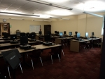 1/29: This is the computer lab off of the library. There are also several other computer labs throughout the school.