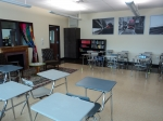 1/29: And they even have desks in the English room.