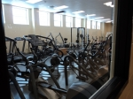 1/29: The exercise room. This is right off the main athletic complex entrance.