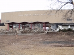 2/26/11: The auditorium has been torn down this week, all that is standing is the front facade.