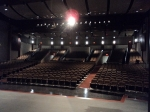 9/5/12: Looking from the stage to the auditorium.