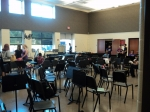 9/5/12: The band room.
