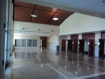 9/5/12: The entrance / lobby to the auditorium.