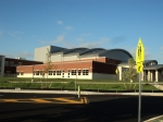 9/5/12: The side view of the Performing Arts Center, from Loch Alsh ave.